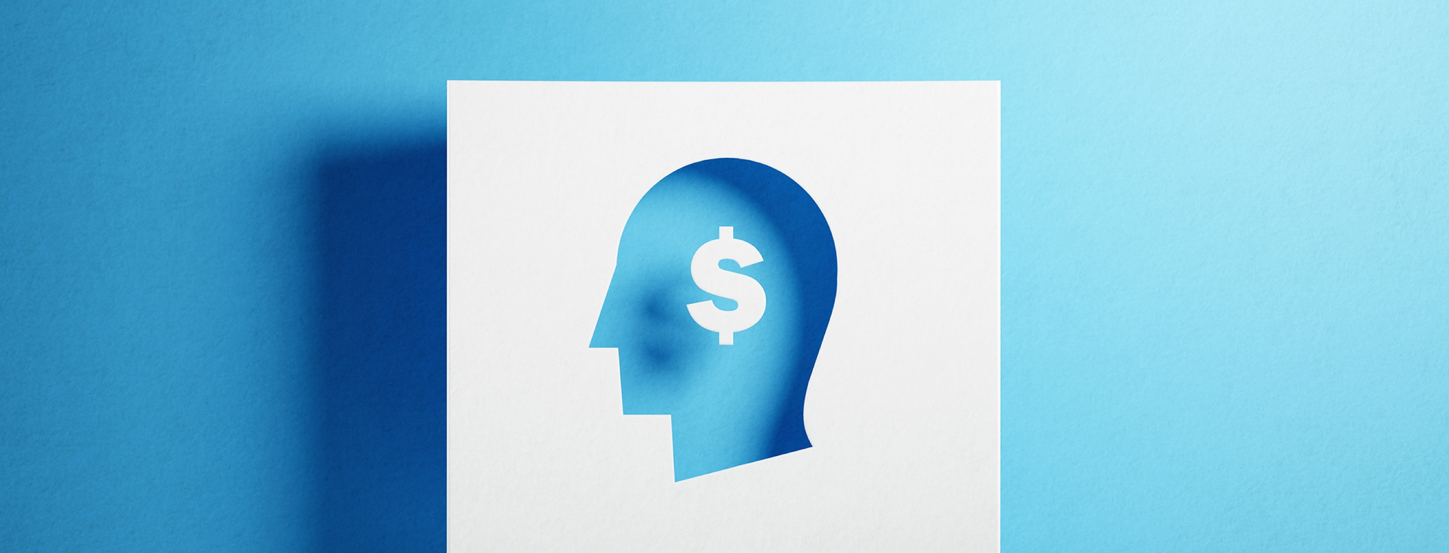 Image indicating a person thinking about cost-savings